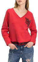 Tommy Hilfiger Gigi Hadid V-Nk Sweatshirt
