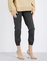 Yeezy Stretch-cotton trousers