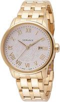 Versace Business Stainless Steel Bracelet Watch, Golden