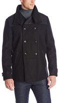 Calvin Klein Men's Short Wool Pea Coat