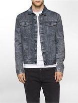 Calvin Klein Mens Buried Indigo Denim Jacket