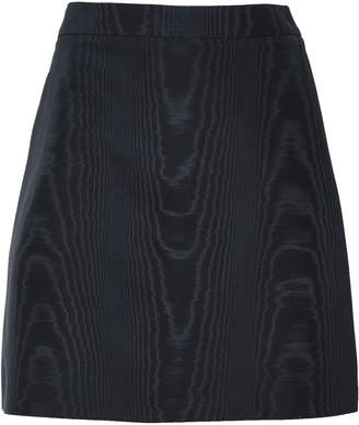 ADAM by Adam Lippes Cotton-blend Moire Mini Skirt