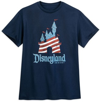 Disney Fantasyland Castle Americana T-Shirt Disneyland