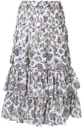 Isabel Marant Nouk ruffled skirt