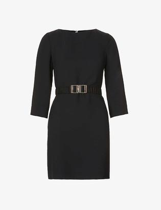 Claudie Pierlot Routy crepe mini dress