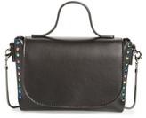 BP Studded Mini Faux Leather Crossbody - Black