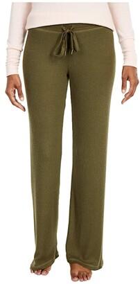 PJ Salvage Textured Basics Pants (Black) Women's Pajama
