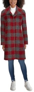 Cole Haan Plaid Walker Coat
