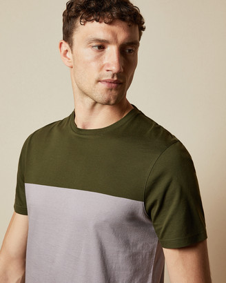 Ted Baker TOSPICE Cotton panelled T-shirt