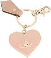 Vivienne Westwood Women's Mirror Heart Keyring Pink