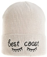 BP Women's Embroidered Beanie - Black