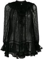 Zimmermann sheer blouse