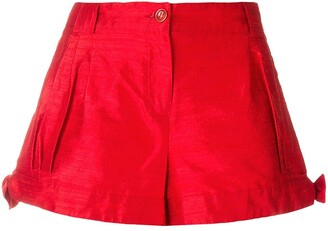 Giorgio Armani Pre Owned Side Ties Shorts