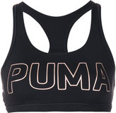 Puma metallic logo compression top - women - Polyester/Spandex/Elastane - XS