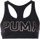 Puma metallic logo compression top - women - Polyester/Spandex/Elastane - XS
