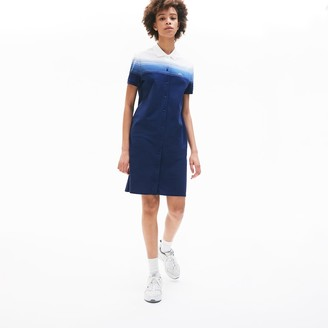 Lacoste Women's Made in France Cotton Pique Polo Dress