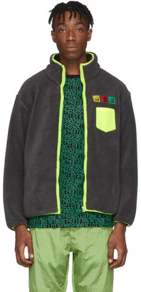 Clot Grey Fleece Jacket