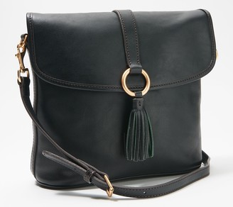 Dooney & Bourke Florentine Leather Large Dottie Crossbody