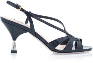 Miu Miu Strappy Leather Sandals