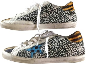Golden Goose Superstar Multicolour Leather Trainers