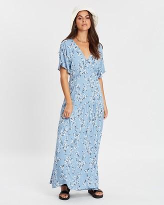 MinkPink Bluebell Fields Maxi Dress