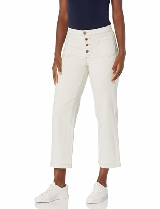 William Rast Women's Misses High Rise Wide Leg Cropped Jean