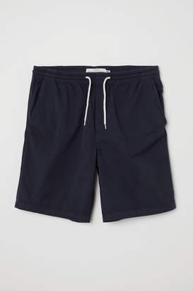 H&M Elasticated cotton shorts