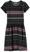 Forever 21 Girls Tribal Print Babydoll Dress (Kids)