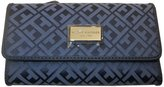 Tommy Hilfiger Continental Checkbook Wallet Blue Multi