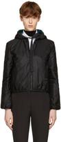 Prada Reversible Black & Green Nylon Jacket