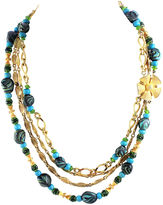 One Kings Lane Vintage 1950s Beaded Necklace
