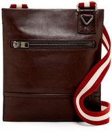Bally Tanit Leather Messenger Bag