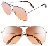Victoria Beckham Women's Loop 61Mm Navigator Sunglasses - Galaxy