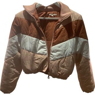 Tularosa Pink Linen Coat for Women