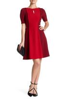 Tahari Colorblock A-Line Dress