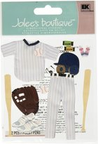 Jolees Jolee's Boutique Dimensional Stickers, Baseball