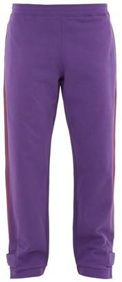 eye/LOEWE/nature Eln Patch-pocket Cotton-jersey Track Pants - Purple