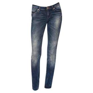 Dolce & Gabbana Blue Cotton - elasthane Jeans