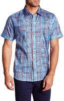 Robert Graham Berry Farm Woven Short Sleeve Regular Fit Shirt
