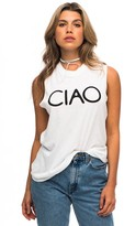 Sub Urban Riot Suburban Riot Ciao Muscle Tee in White