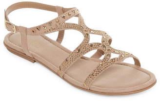 Arizona Womens Marley Flat Sandals