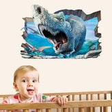 YU&XIN-home Seamless self adhesive wall stickers 3D murals rhinos living room sofa living room TV background wall ,-YU&XIN