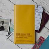 Luna Studio Designs World Destinations Personalised Travel Document Holder