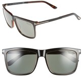 Tom Ford 'Karlie' 57mm Polarized Sunglasses