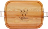 The Well Appointed House Large Personalized Tray with Handles with Names and Date