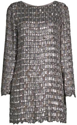 retrofete Delilah Hand-Embroidered Mini Dress
