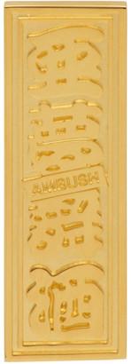 Ambush Gold Single Ofuda Earring