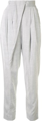 Proenza Schouler Tapered Pleated Trousers