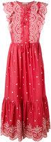 Ulla Johnson long sleeveless printed dress - women - Cotton - 4