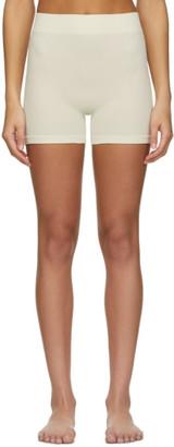 SKIMS Off-White Stretch Rib Boy Shorts